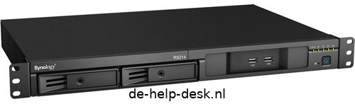 """Synology RS214 19"""" rack NAS"""