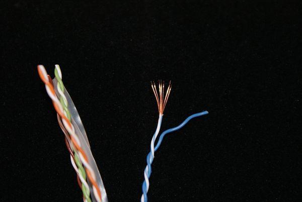 Cat6 soepele kern kabel