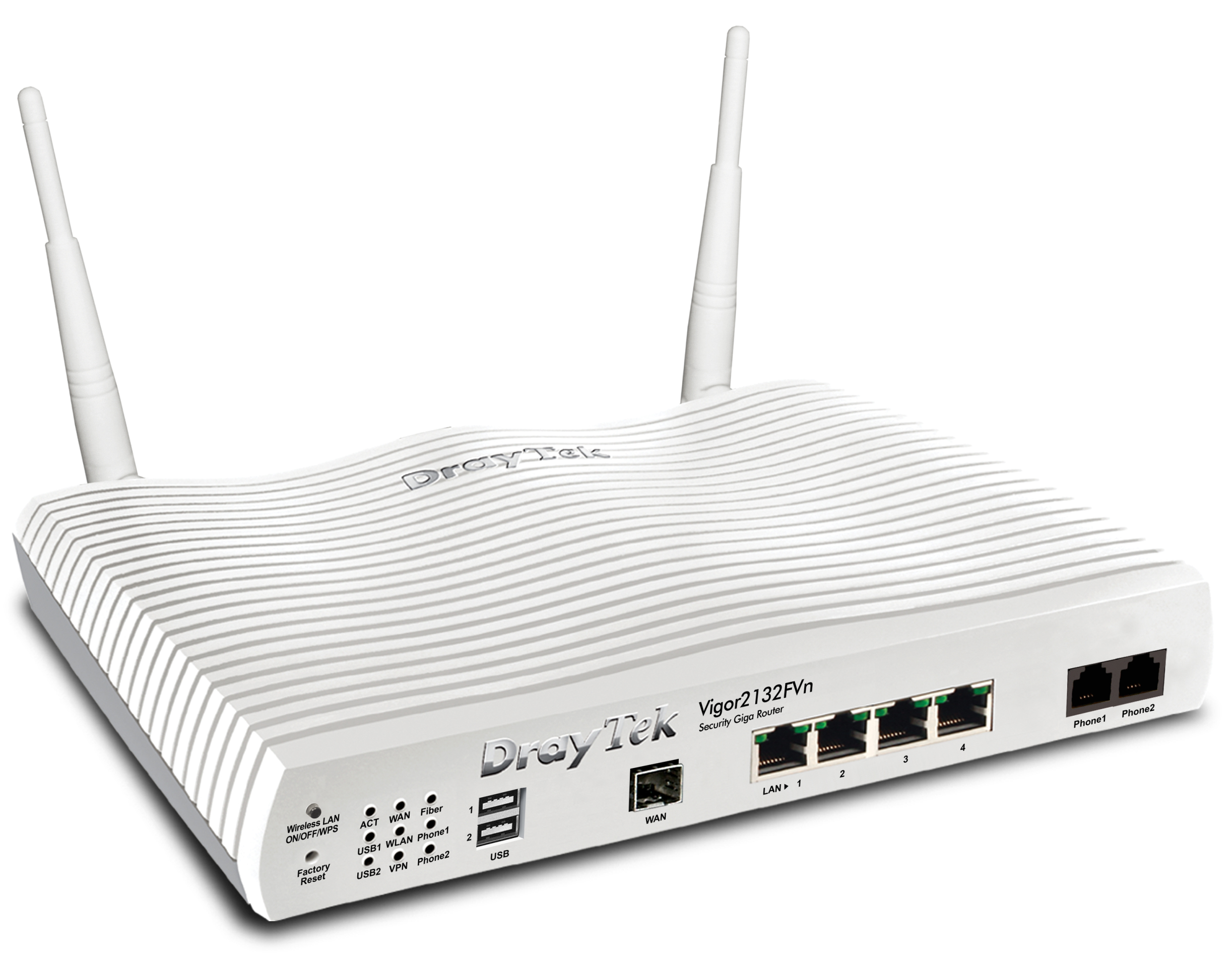 DrayTek Vigor 2132FVn wireless glasvezel router