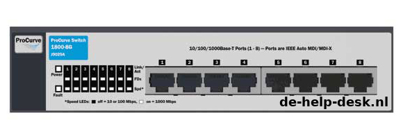 HP Procurve Switch 1800-G8